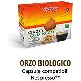 60 cialde capsule ORZO BIOLOGICO BIO RISTORA COMPATIBILI MACCHINE NESPRESSO (6 X 10pz)