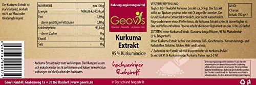 Geovis Kurkuma Extrakt