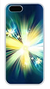 Bright flowers for cheap iphone 5 covers PC White for Apple iPhone 5/5S