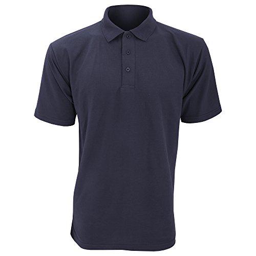Manches À Polo Ucc Pour Courtes Uni Homme Bleu wOnnSB