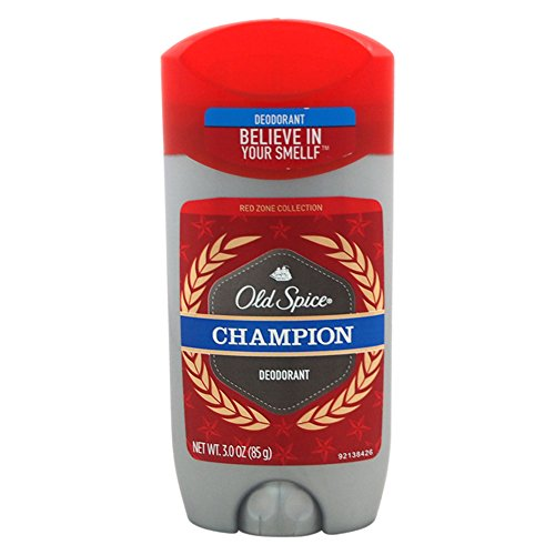 Old Spice Red Zone Champion Scent Men's Deodorant 3 Oz (Champion Body Wash Old Spice)