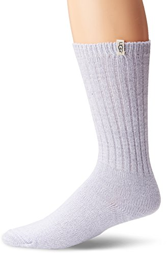 UGG Women's Rib Knit Slouchy Crew Sock, Icelandic Blue, O/S