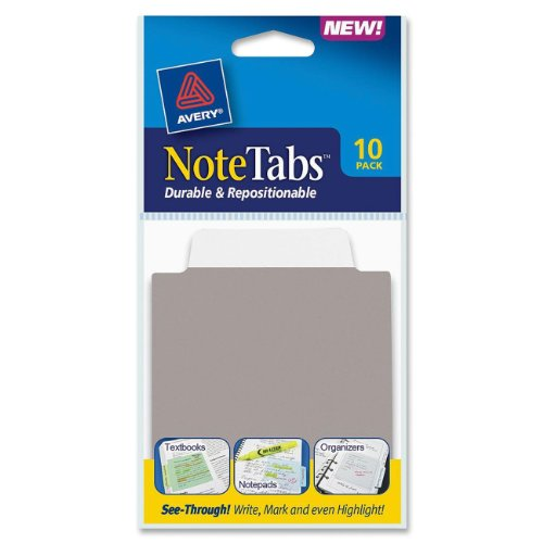 Avery NoteTabs Inches Taupe 16321 product image