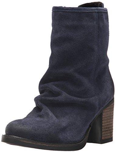 Bos. & Co. Kvinna Barlow Boot Djupblå Olje Mocka
