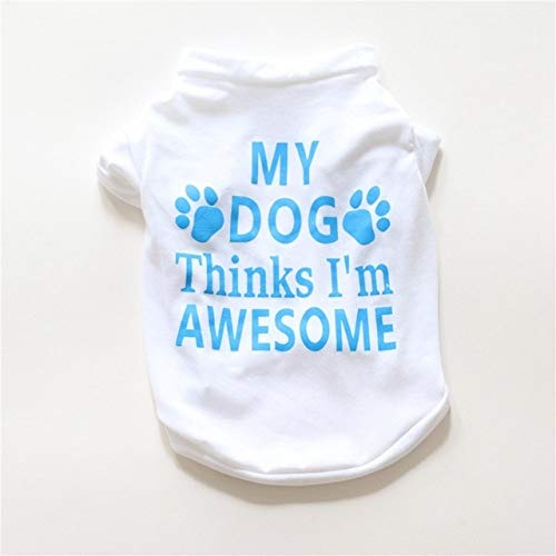 XuBa Dropshipping Wholesalers Suppliers Korean Dog Clothes Cachorro Camiseta Perro Chihuahua Shirt Dog Costume T Shirt Cotton Pet E B M