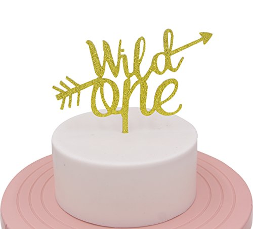Gold Wild One Cake Topper For First Birthday 1st Decorations Supplies