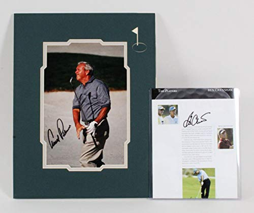 Arnold Palmer Signed Photo Ben Crenshaw - COA - JSA Certified - Autographed Golf Photos - Photo Arnold Signed Palmer