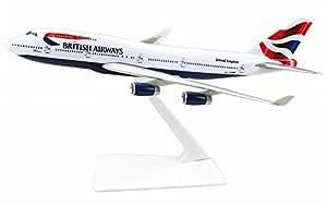 Premier Planes 747 British Airways Boeing 747 1:250 Clip Together Model by Premier Planes