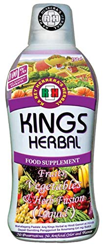 KINGS HERBAL Fruits Vegetables & Herb Fusion Food Supplement (750 ml)