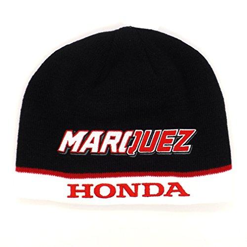 Marc Marquez 93 Dual Honda Moto GP Beanie Black Official 2016 (Moto Gp Merchandise compare prices)