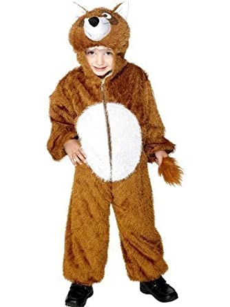 cdf06ac13f67 Girls Boys Brown Fantastic Mr Fox Jumpsuit Onesie Animal Book Day Fancy  Dress Up Costume Outfit Age 7-9 years  Amazon.co.uk  Clothing