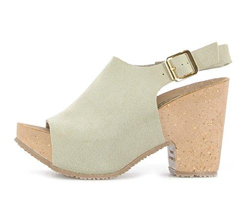Bionatura - Zapatillas para mujer blanco Bianco