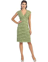Amazon.com: Green - Mother of the Bride / Wedding Party: Clothing ...