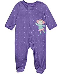 Carter\'s Baby Girls\' Microfleece 115g149, Purple, 3M