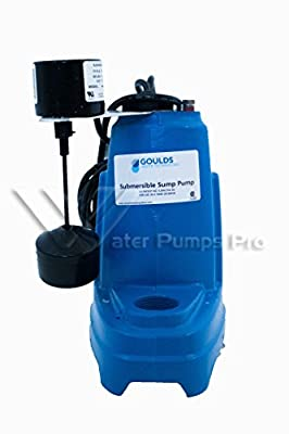 "Goulds ST51AV ""Sump Thing"" Sum Sump/Effluent Pump 1/2HP 115V"