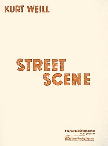 Books : Street Scene: Vocal Score