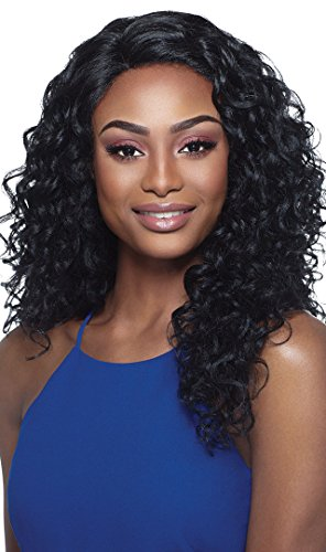 LACE FRONT AMBER (1B Off Black) - Outre L Part Synthetic Full Wig