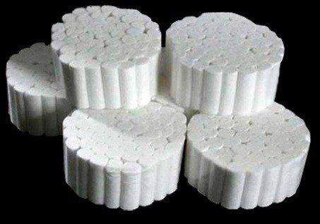 Non Sterile Cotton (500 PCS Cotton Rolls #2 Medium 3/8