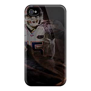Special Davilacase Skin Case Cover For Iphone 4/4s, Popular Denver Broncos Phone Case