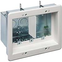 Arlington Industries TVBS507 3 Gang White Tv Box