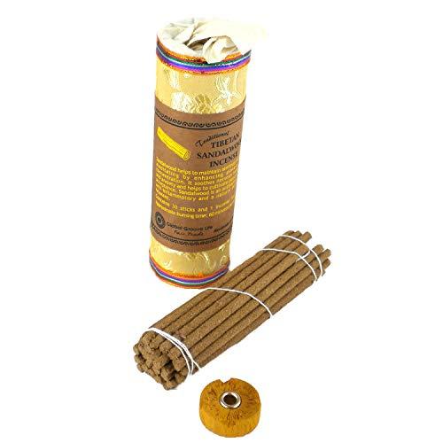 - Global Groove Tibetan Incense - Sandalwood