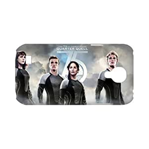 Personalized DIY phone Custom Case for Samsung Galaxy S4 I9500 Snap on -The Hunger Games Catching Fire-01296-05 Kimberly Kurzendoerfer