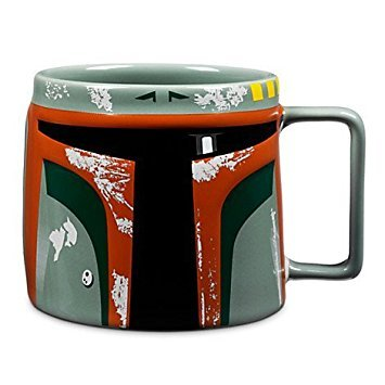 - Disney Boba Fett Mask 3D Ceramic Mug - 20 ounce