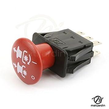 Interruptor embrague de cuchilla electromagnética para Kubota. 1211 - 62231: Amazon.es: Bricolaje y herramientas