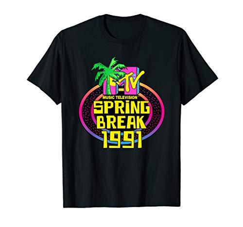 MTV Spring Break 1991 Classic Logo  -