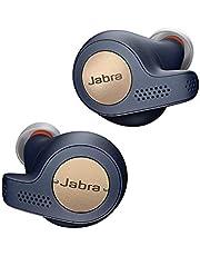 Jabra Elite Active 65T True Wireless Bluetooth Sport Hoofdtelefoon, Muziek en Telefoneren, met Oplaadstase, Spraakbesturing, Koper Blauw