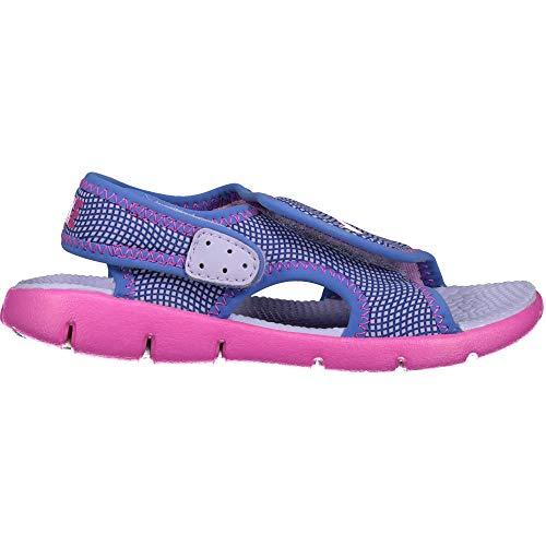NIKE New Baby Girl's Sunray Adjust 4 Sandal #386521-504 (9 Toddler M)