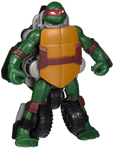 Teenage Mutant Ninja Turtles Figure to Vehicle- Raphael to Stealth Cycle