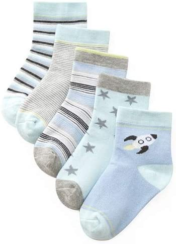 QYYDETWZ 5 Pc/Set Calcetines de algodón para bebés Calcetines de ...