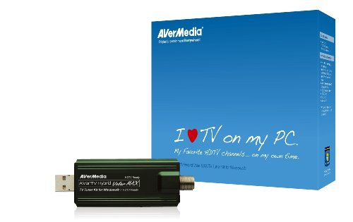 - Avertv Hybrid Volar Max TV Tuner Kit for Windows MTVHVMXSK