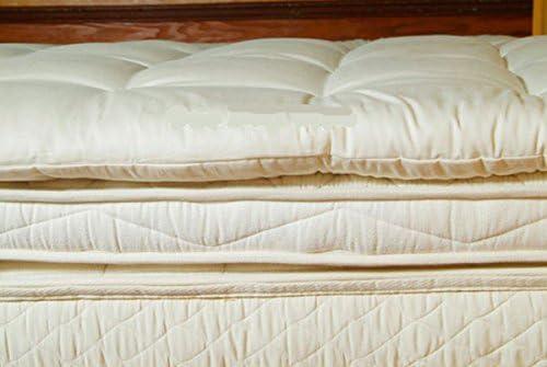 Holy Lamb Organics Wool Mattress Toppers Twin Deep Sleep Topper