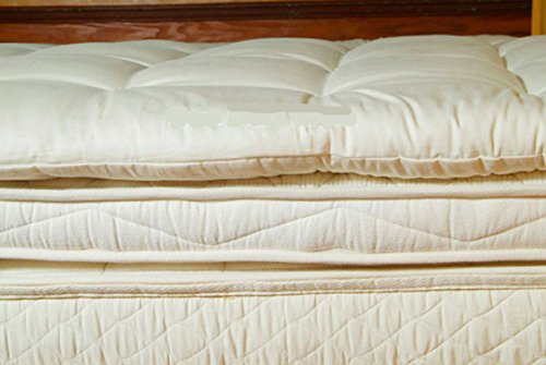 Holy Lamb Organics Wool Mattress Toppers (Twin Deep Sleep (Twin Tufted Organic Wool)