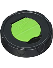 Ball Herb Shaker Plastic Lids (Pack of 6, 12-Lids)