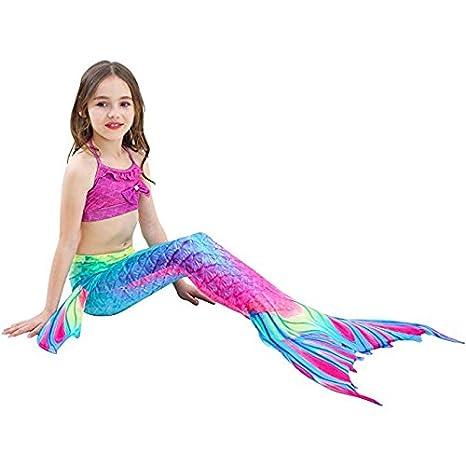 onlight Coda da Sirena Costumi da Bagno per Nuotare per Ragazze