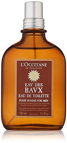 L'Occitane Woody Eau des Baux Eau de Toilette for Men, 3.4 fl. oz.