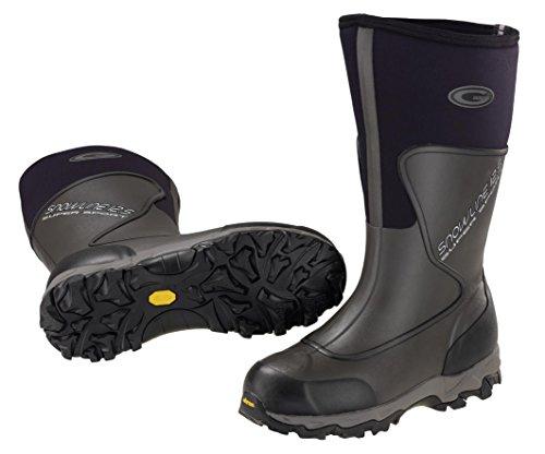 GRUBS´s Supersport Black Moor Schwarz Gummistiefel Snowline BHwRBO