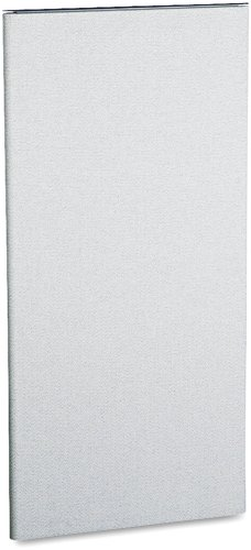 HON SP5325CE18 Simplicity II Series Panel, 100% Polyester, 25-1/2w x 1-1/2d x 53h, Alumina GY