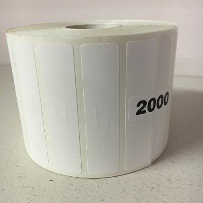 '' EZ-OFF and Durable'' Exclusive Glue Special Formula Barcode Jewelry Labels for Small Zebra Desktop Printer ''GX420T'' (2,000 ct)