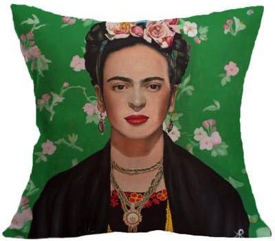 Li-an-ca Frida Caro Frau portr/ät Kissenbezug Leinen Kissen Retro Stil Hause Kissenbezug 1 st/ücke Ohne Kissen
