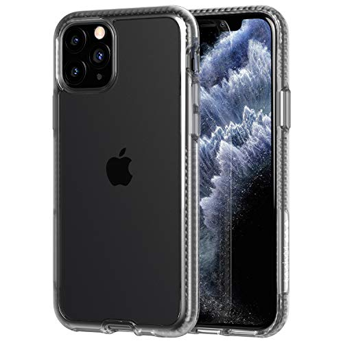 Tech21 Protective Apple iPhone 11 Ultra Thin Back Cover with BulletShield Protection – Pure Clear – Transparent