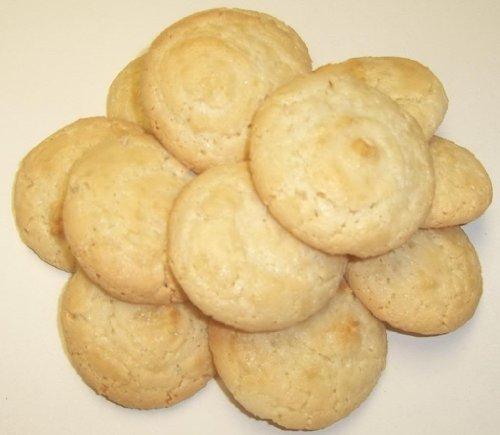 Scott's Cakes Almond Macaroon Cookies in a 1 Pound White - Almond Pound Cake
