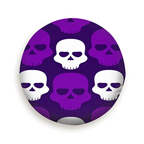X-Large Tire Cover Happy Halloween Skull Set Art Polyester Universal Spare Wheel Tire Cover Wheel Covers Jeep Trailer Rv SUV Truck Camper Travel Trailer Accessories 16