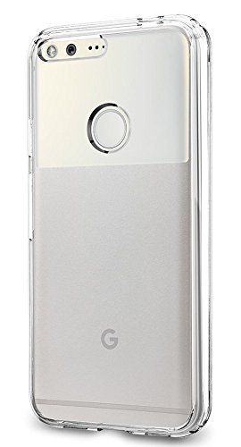 Spigen Ultra Hybrid Google Pixel Case with Air Cushion Technology and Hybrid Drop Protection for Google Pixel 2016 - Crystal Clear