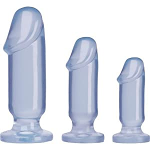 Crystal Jellies Anal Starter Kit - Clear