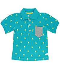 RuggedButts® Infant / Toddler Boys 1-Pocket Polo w/ 3 Buttons