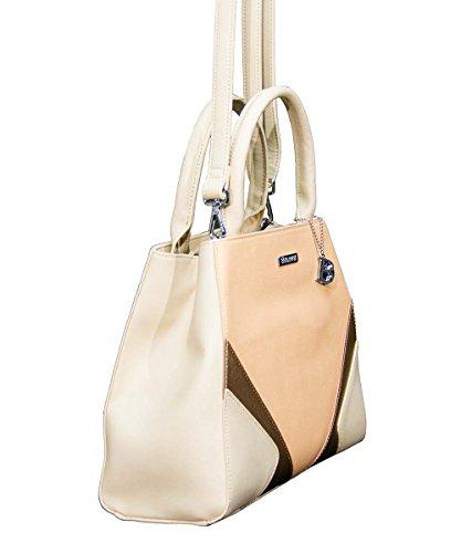 Bulaggi - Bolso de asas de Material Sintético para mujer beige beige